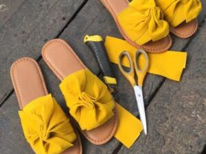 Bow Cover Slippers