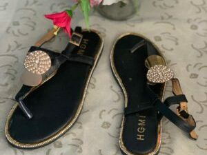 HGMI Gold Plate Sandals