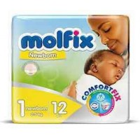 Molfix Diaper size 1 by 12