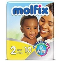 Molfix Diaper size 2 by 10