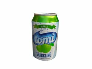 Tomi Apple Sparkling Drink Can 33 cl x6