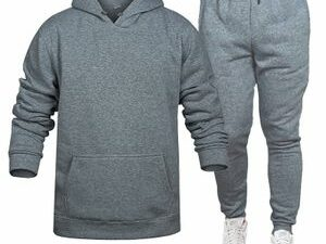 Elvin Grey Hoodie And Joggers