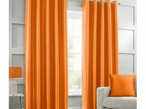 High Quality Curtains With Rings  ORANGE