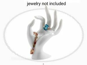Mannequin Ok Shaped Stand Hand Ring Bracelet Necklace Chain Watch Display Holder Stand