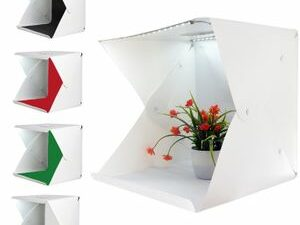 40cm Big Light Box Studio Photography Shooting Light Tent With Four Different Backgrounds