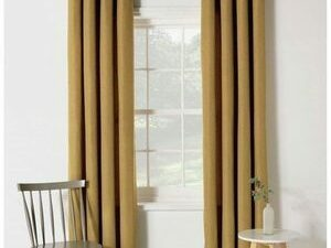 Plain Curtain Rings 75ft By 75ft Champagne Gold