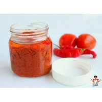Fresh parboiled grinded pepper   Tomatoes Pepper Onion and Tatashe Atamashe    5 litre