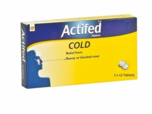 ACTIFED COLD TABLET