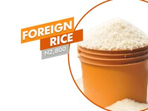 Paint of foreign rice
