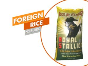 FOREIGN RICE