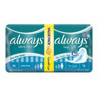 Always Ultra Thin Value Pack Blue