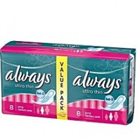 Always Ultra Thin Value Pack Pink