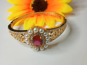 Red sparkle bangle